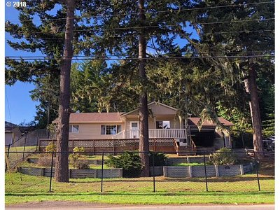 Coos Bay Single Family Home For Sale: 760 Lakeshore Dr