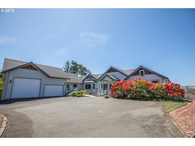 Coos Bay Single Family Home For Sale: 91347 Cape Arago Hy