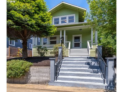 Multnomah County Single Family Home For Sale: 527 NE Cook St