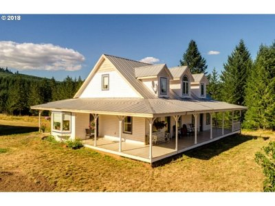 Yamhill Single Family Home For Sale: 25300 NW Turner Creek Rd