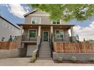 Single Family Home For Sale: 4777 SE Mitchell St