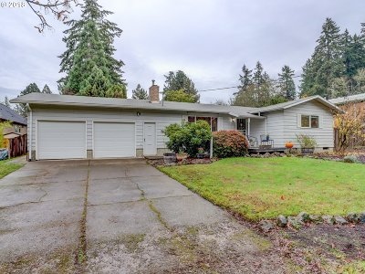 Beaverton Single Family Home For Sale: 7100 SW 189th Ave