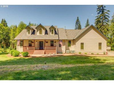 La Center Single Family Home For Sale: 38100 NE 81st Ave
