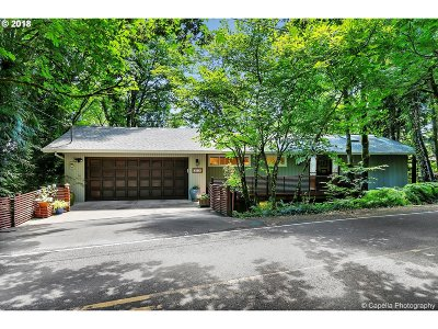 West Hills Single Family Home For Sale: 4144 SW Hewett Blvd