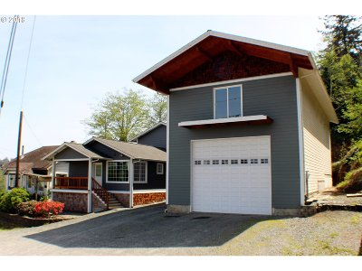 Coos Bay Single Family Home For Sale: 62896/94 Highway 101