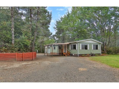 Florence Single Family Home For Sale: 4870 Heceta Beach Rd