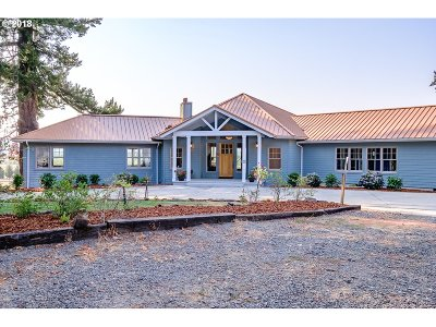 Scio Single Family Home For Sale: 37610 Farris Rd