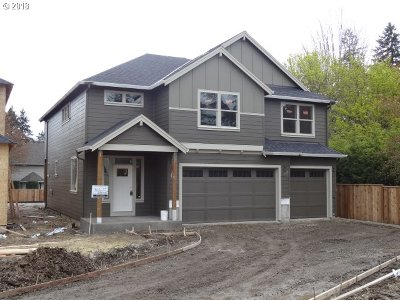 Tigard Single Family Home For Sale: 15158 SW Chandler Ln #Lot 5