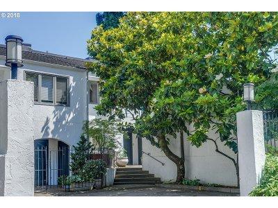 Portland Condo/Townhouse For Sale: 2387 SW Cedar St