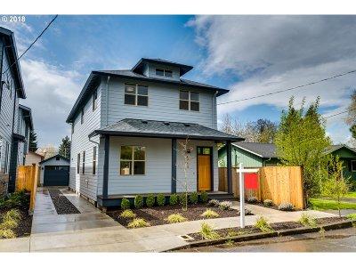 Portland Single Family Home For Sale: 8713 N Endicott Ave