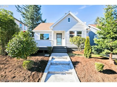 Single Family Home For Sale: 3943 NE 76th Ave