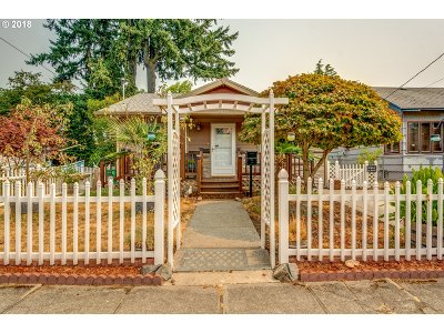 Single Family Home For Sale: 4830 SE 62nd Ave