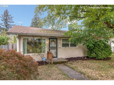 Single Family Home For Sale: 6505 SE 77th Ave