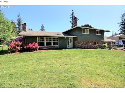 Sandy Single Family Home For Sale: 49521 SE Cherryville Dr