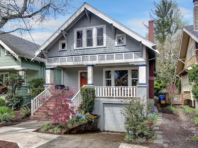Single Family Home For Sale: 3971 SE Lincoln St