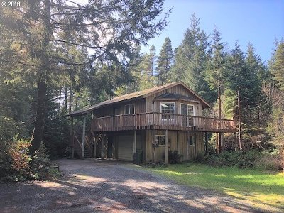 Bandon Single Family Home For Sale: 88427 Trout Pond Ln