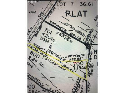 West Linn Residential Lots & Land For Sale: 26380 SW Petes Mountain Rd #700