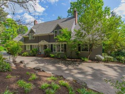 Portland Single Family Home For Sale: 5000 SW Hewett Blvd