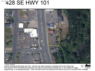 Lincoln City Commercial For Sale: 412/428 SE Hwy 101