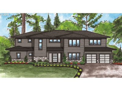 Lake Oswego Single Family Home For Sale: 17684 Stafford Rd #Lot 3