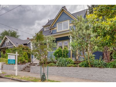 Portland OR Single Family Home For Sale: $649,950