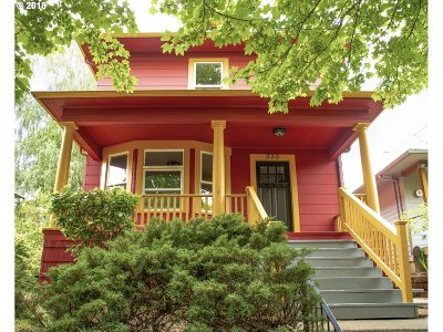 Portland Single Family Home For Sale: 333 SE 30th Ave