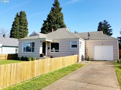Springfield Single Family Home For Sale: 187 19th St