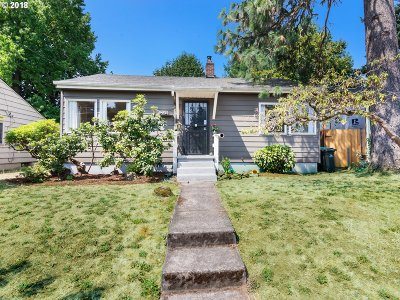 Single Family Home For Sale: 4835 SE 45th Ave