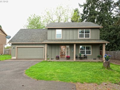 Keizer Single Family Home For Sale: 4949 Wolf St N