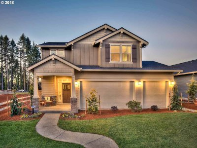 Forest Grove Single Family Home For Sale: 2040 Silverstone Dr #Lot 4