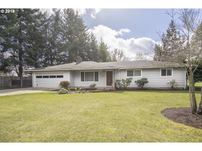 Hillsboro Single Family Home For Sale: 4882 NE Airport Rd