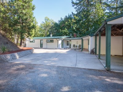 Springfield Single Family Home For Sale: 35803 Camp Creek Rd
