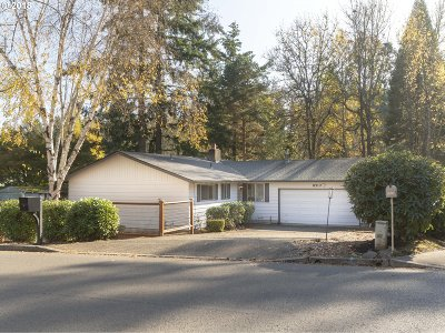 Portland Single Family Home For Sale: 8510 SW Alden St