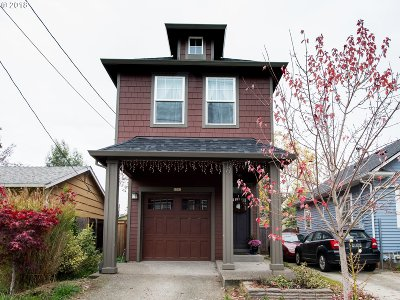 Portland Single Family Home For Sale: 8301 N Newman Ave