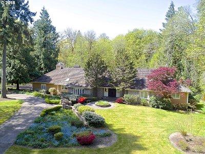 West Linn Single Family Home For Sale: 563 SW Ashdown Cir