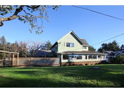 Gearhart Single Family Home For Sale: 602 8th St
