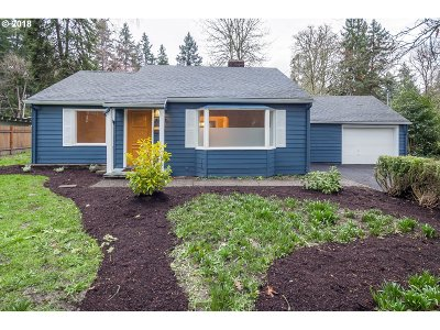 West Linn Single Family Home For Sale: 5889 Perrin St