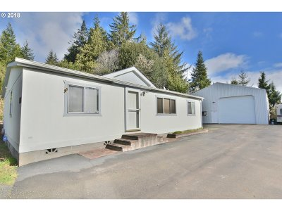 Coos Bay Single Family Home For Sale: 61967 Olive Barber Rd
