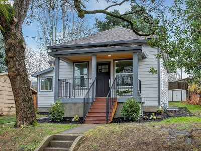 Portland Single Family Home For Sale: 9549 N Edison St