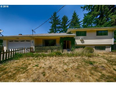 Portland Single Family Home For Sale: 13333 SE Mill St