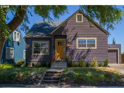 Portland Single Family Home For Sale: 6522 SE 22nd Ave