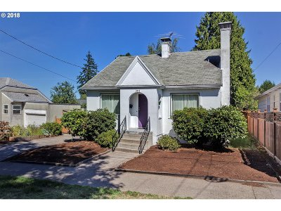 Single Family Home For Sale: 4112 NE 75th Ave
