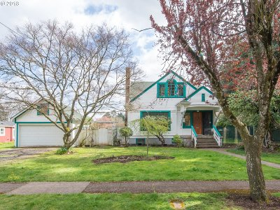 Single Family Home For Sale: 750 NE 87th Ave