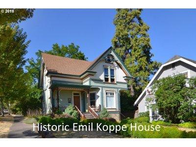 Eugene Single Family Home For Sale: 205 E 3rd Ave