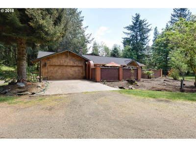 Willamina Single Family Home For Sale: 6900 Gold Creek Rd