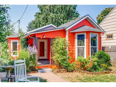 Single Family Home For Sale: 4123 SE 65th Ave