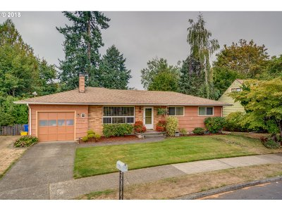 Single Family Home Sold: 1105 SE 146th Ave