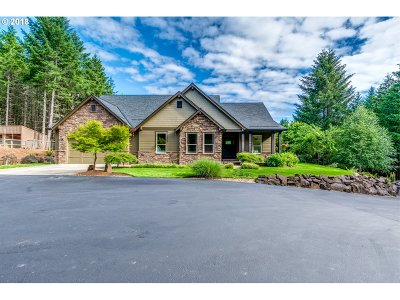 Multnomah County, Clackamas County, Washington County Single Family Home For Sale: 54087 SW Scoggins Valley Rd