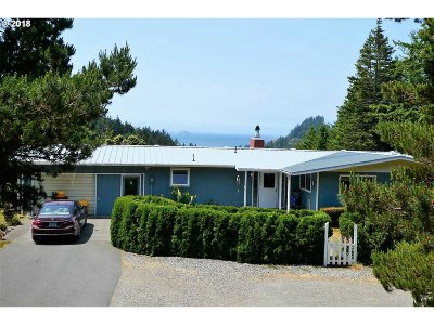 Gold Beach Single Family Home For Sale: 95445 Mussel Creek Rd