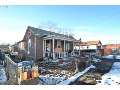 Pendleton Single Family Home For Sale: 611 SW 2nd